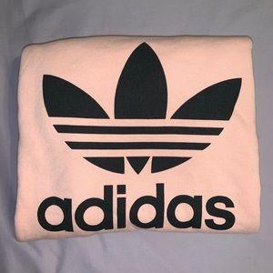 Adidas Pastel Pink Crewneck